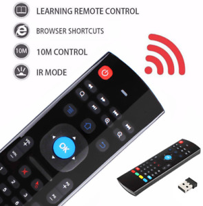 Free shipping, Universal Remote with Keyboard