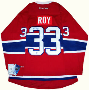 Patrick Roy signed autograph Montreal Canadiens Jersey