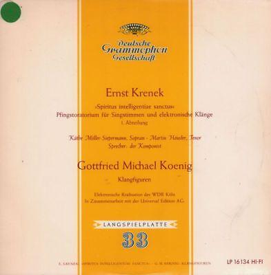"""Ernst Krenek(10"""" Vinyl)Spiritus Intelligentiae Sanctus-Deutsche Grammop-VG/Ex"""