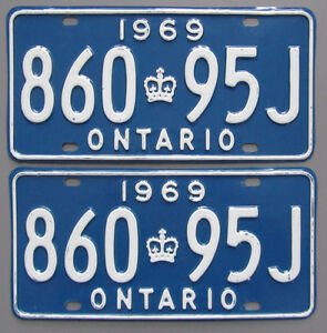 Classic Car YOM License Plates - Ministry Approval Guaranteed Kitchener / Waterloo Kitchener Area image 9