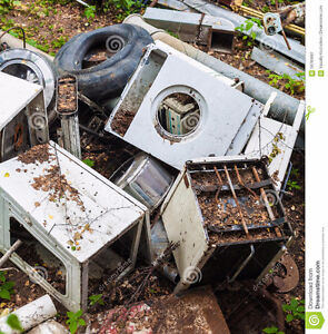 Will pick up and recycle your old car battery's or scrap