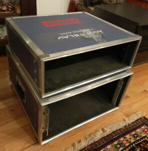 Two Rack Mount Carrying Cases