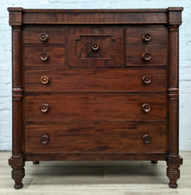 Antique Scottish Chest Of Drawers (DELIVERY AVAILABLE)