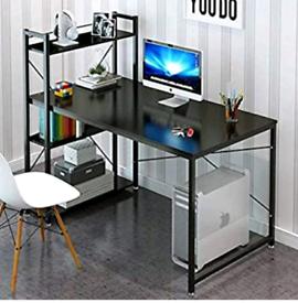Black Office Desk for Sale - used
