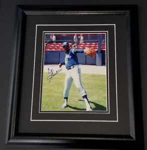 Cito Gaston Autographed Toronto Blue Jays 8x10 Framed