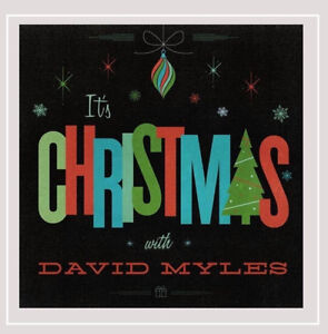 David Myles-It's Christmas-New and sealed cd