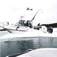Boston Whaler boat charter