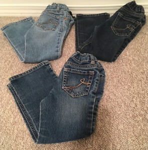 Childrens Place Jeans Bootcut Stretch Toddler sz 4T
