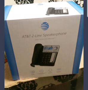 New 2 line AT&T phone