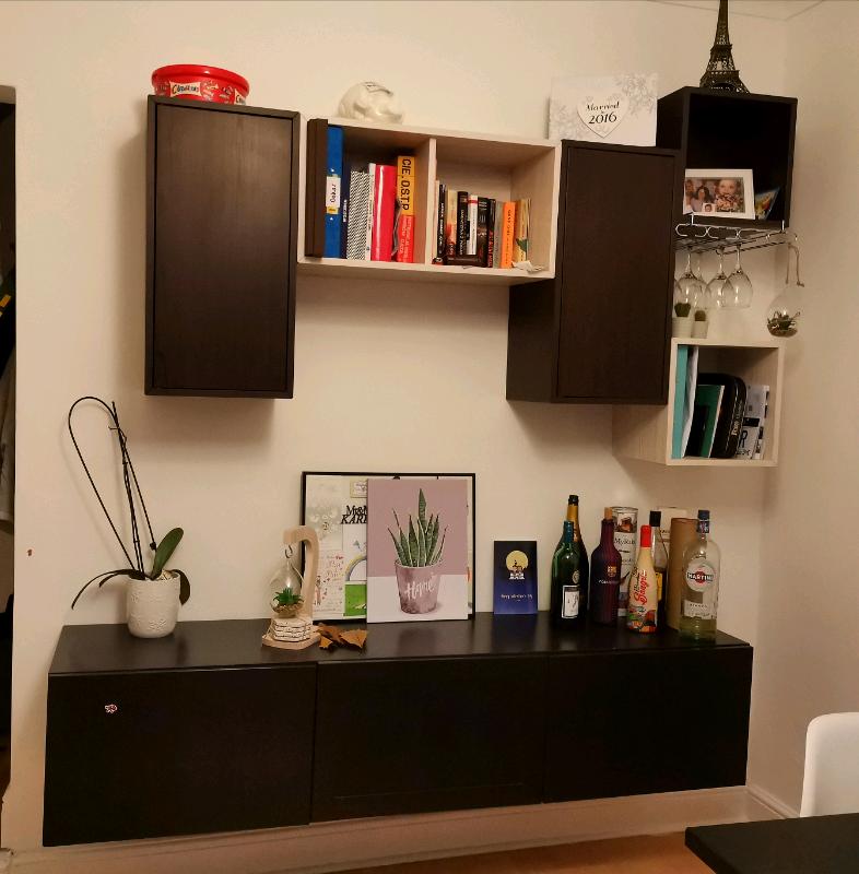 ikea besta tv unit living room furniture  in portsmouth
