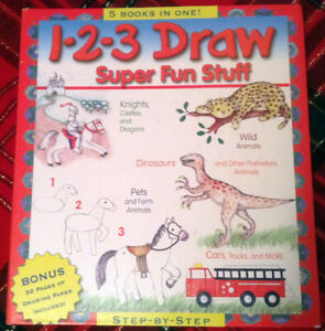 Two Learn To Draw Books