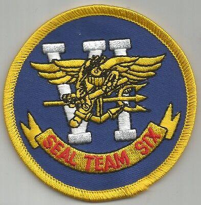 US NAVY SEAL TEAM SIX MILITARY PATCH SEAL TEAM VI SEAL TEAM 6