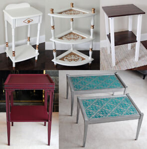 Variety of Accent Tables - $50 each