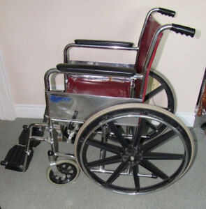 Wheel Chair Folding Type Barely Used