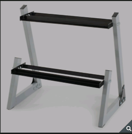 'Weider' dumbbell weight rack (NO WEIGHTS INCLUDED)