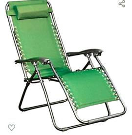 Zero gravity garden recliner
