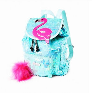 NEW - mini sequin backpack