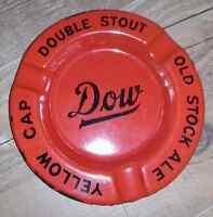 Nice vintage Dow enamel ashtray