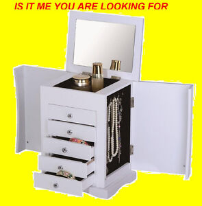 TABLE TOP JEWELLERY BOX WITH MAKE- UP MIRROR $89ONLY Oakville / Halton Region Toronto (GTA) image 4
