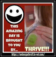 Thrive! Who wants a sample?