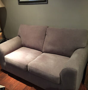 Newer Loveseat 5 Months old from Teppermans in mint condition