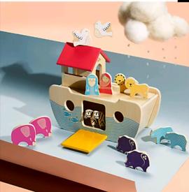 M&S Wooden Noah's Ark