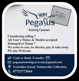'Pegasus' Will Buy Your Caravan