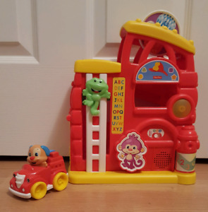 Fisher Price Fire House