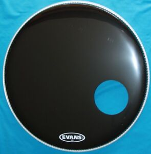 NEW CONDITION, EVANS EQ3 BASE DRUM COVER;