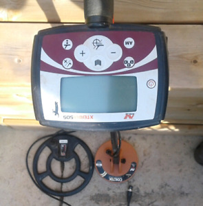 Metal Detector. Minelab X-terra 505 with 2 coils.