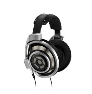 Sennheiser HD800 headphone + custom braided XLR cable for sale