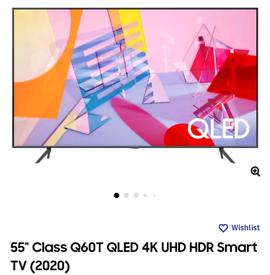 Samsung 55 q60t qled 4k smart tv brand new boxed call 07550365232