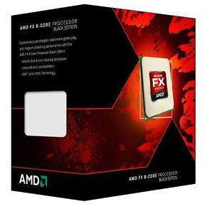 AMD FX-8350 Black Edition Vishera 8-Core 4.0 GHz (4.2 GHz Turbo)