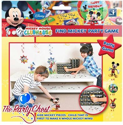 DISNEY MICKEY MOUSE CLUBHOUSE FIND MICKEY MOUSE Kids Birthday Party Game 96859 - Mickey Mouse Birthday Games