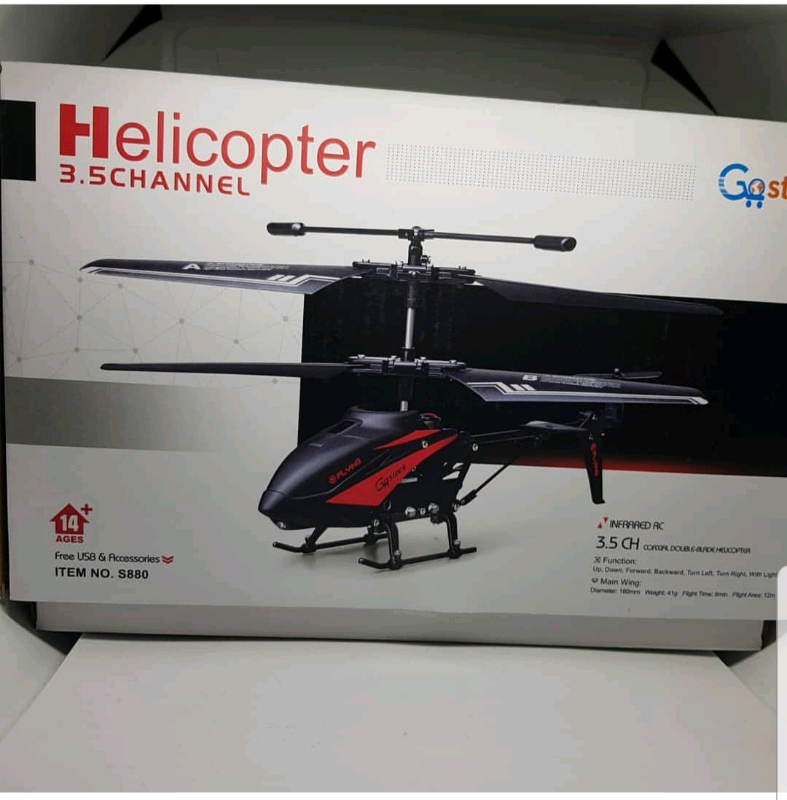 BRAND NEW RC helicopter | in Leicester, Leicestershire | Gumtree