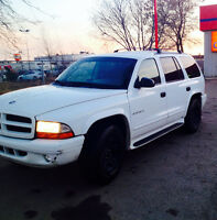 2001 Dodge Durango 4x4 with inspection ASAP