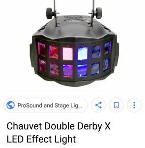 Chauvet Double Derby Led DMX