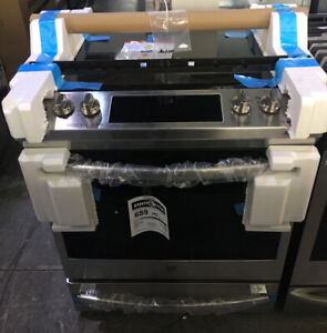 """New 30"""" GE Profile slide in $1899! electric smooth top Stove as*"""