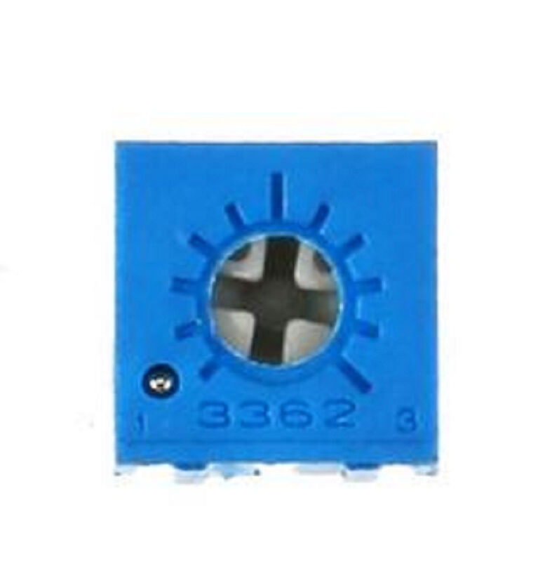 5 pcs 3362P 201 200 ohm Potentiometer Multiturn Trimmer Adjustable Variable