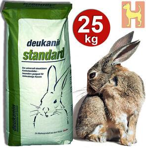 25kg Deukanin Standard  für Kaninchen - pelletiertes Kaninchenfutter Hasenfutter