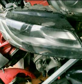 Audi a5 8t nearside front xenon headlight 08-12