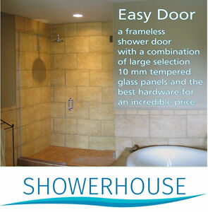 Frameless Glass Shower Enclosure from $ 382.00