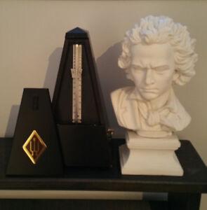 Métronome & buste de Beethoven
