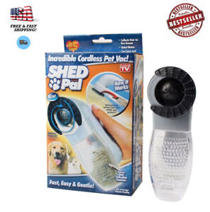 Shed Pal As Seen On TV Pet Hair Remover Dog Pet Grooming Vacuum System Clean Fur