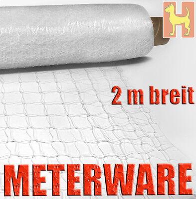 1 m Katzenschutznetz TRANSPARENT METERWARE Rollenware Schutznetz Katzennetz Netz