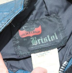 Bristol Leather Motorcycle jacket Oakville / Halton Region Toronto (GTA) image 5