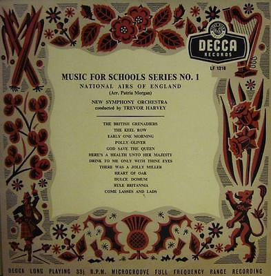 "New Symphony Orchestra(10"" Vinyl)National Airs Of England-Decca-LF 1218-VG+/Ex"