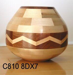 Artisan du Québec: Vase en bois