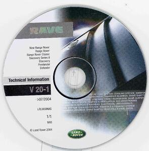 Land Rover OEM RAVE CD V 20-1 (New)