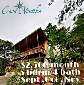 Beautiful rare Vacation rental in Costa Rica
